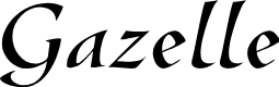 Preview image for GazelleFLF Font