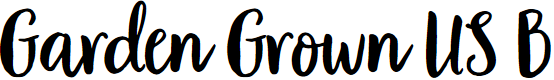 Preview image for Garden Grown US B Font