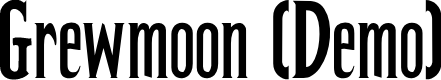 Preview image for Grewmoon (Demo) Font