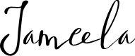 Preview image for Jameela Font