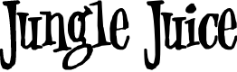 Preview image for Jungle Juice Font