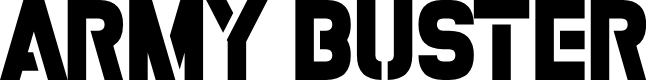 Preview image for Army Buster Font