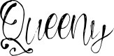 Preview image for Queeny Font