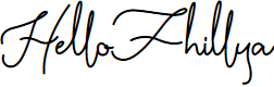 Preview image for HelloFhillya Font