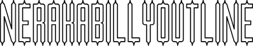NERAKABILLY-Outline font
