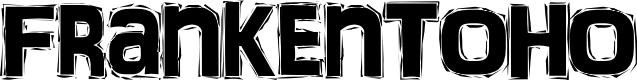 Preview image for FrankenTOHO Font