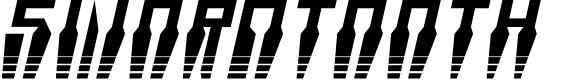 Preview image for Swordtooth Halftone Italic