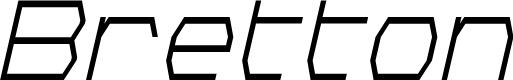 Preview image for Bretton Condensed Italic