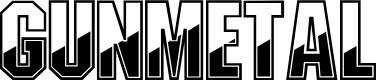 Preview image for Gunmetal Regular Font