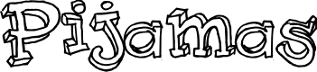 Preview image for Pijamas Font