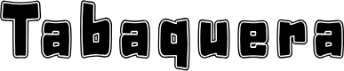 Preview image for Tabaquera Font