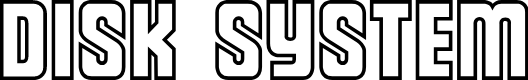 Preview image for Diskun Font