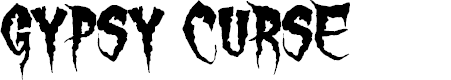Preview image for Gypsy Curse Font