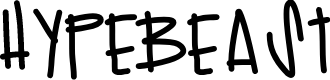 Preview image for Hypebeast Font