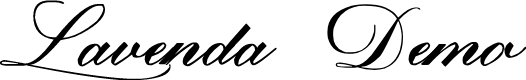 Preview image for Lavenda Demo-FreeForPersonalUse Font