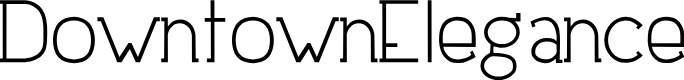 Preview image for DowntownElegance Font