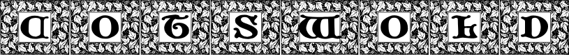 Preview image for JF Cotswold Leaves Font