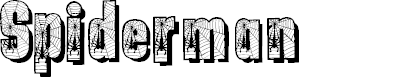 Preview image for Spiderman Font