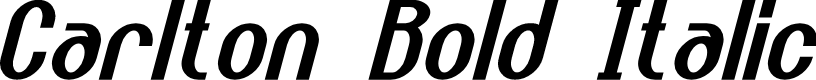 Preview image for Carlton Bold Italic