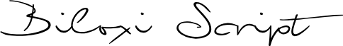 Biloxi Script