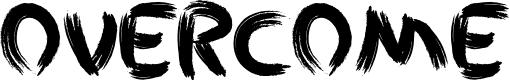 Preview image for Overcome - LJ- Design Studios Grunge Font