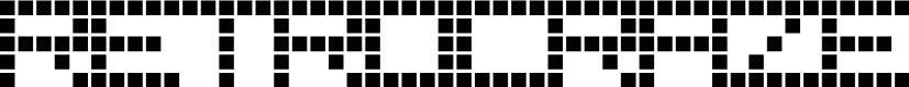 Preview image for RetroBlaze Regular Font