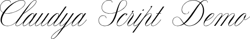 Preview image for Claudya Script Demo