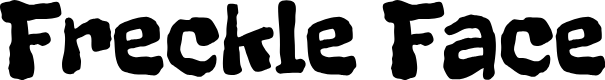 Preview image for Freckle Face Font