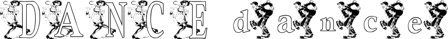Preview image for KGDANCE Font