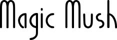 Preview image for Magic Mush Font