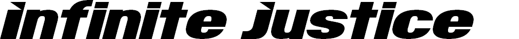 Preview image for Infinite Justice Font