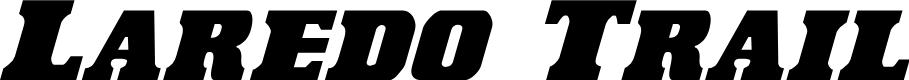 Preview image for Laredo Trail Condensed Italic