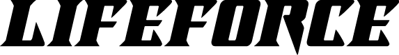 Preview image for Lifeforce Italic Font
