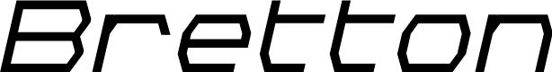 Preview image for Bretton Bold Italic