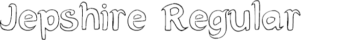 Preview image for Jepshire Regular Font