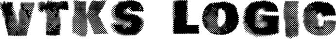 Preview image for vtks logic Font