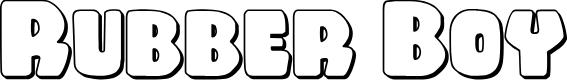 Preview image for Rubber Boy 3D Regular