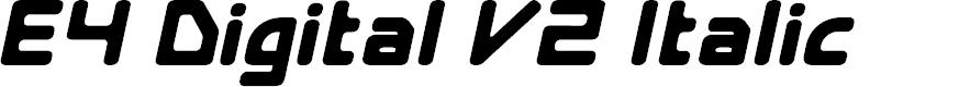 Preview image for E4 Digital V2 Italic