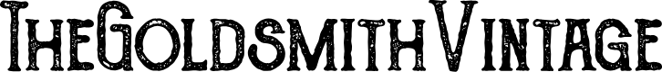 Preview image for TheGoldsmithVintage Font