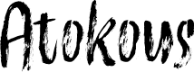 Preview image for Atokous Font