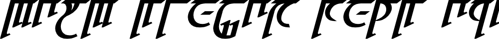 Preview image for High Drowic Bold Italic