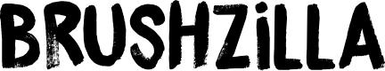 Preview image for DK Brushzilla Regular Font