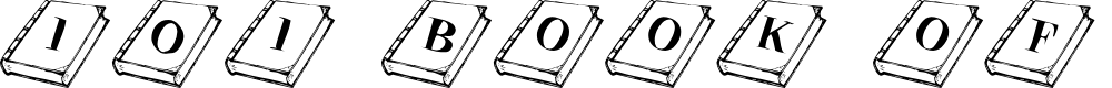 Preview image for 101! Book of Shadows Font