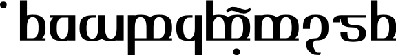 Preview image for TengwarOptime Font