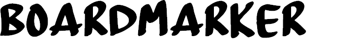 Preview image for BoardMarker Font