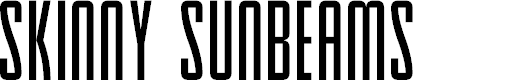 Preview image for Skinny Sunbeams Font