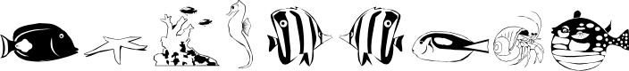 Preview image for Poissons marins
