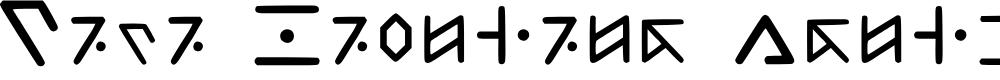 Preview image for Tata Language Regular Font