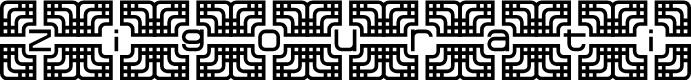 Preview image for Zigourati Regular Font