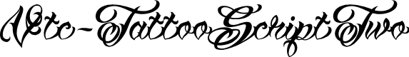 Preview image for Vtc-TattooScriptTwo Font